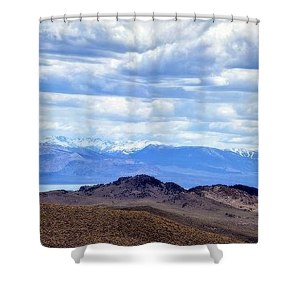 Mono Lake From Bodie Hills Shower Curtain
