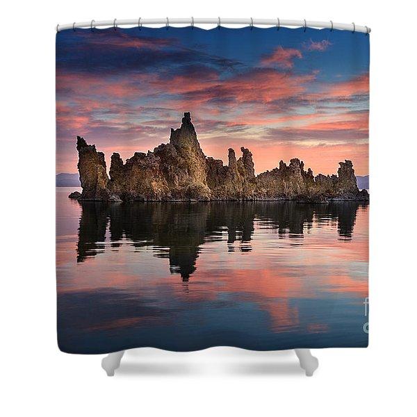 Mono Lake Shower Curtain