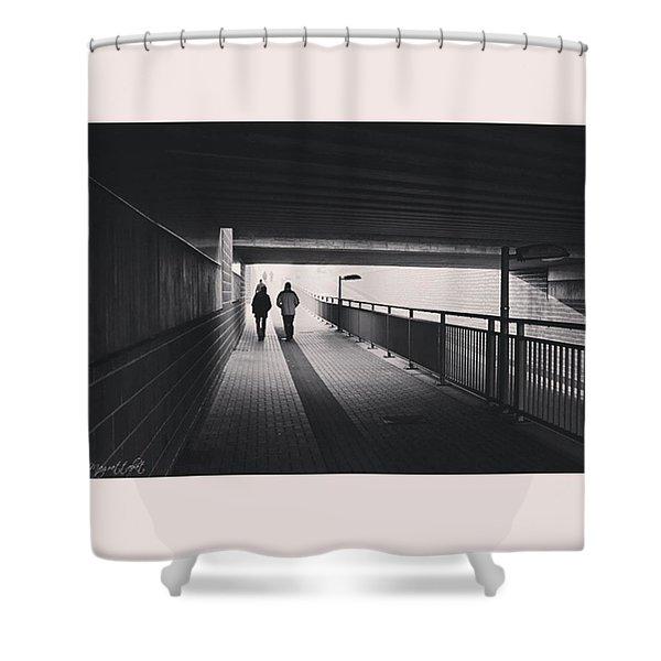#monochrome #canoneos1000d Shower Curtain