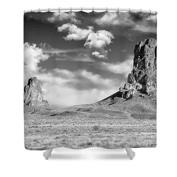 Monoliths Shower Curtain