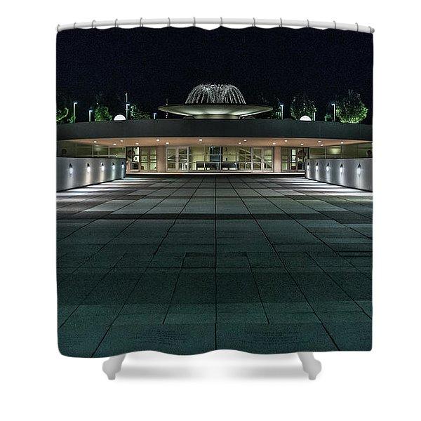Monona Terrace Shower Curtain