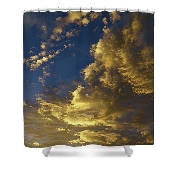 Monsoon Warmth Shower Curtain