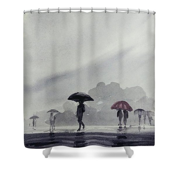 Monsoons Shower Curtain