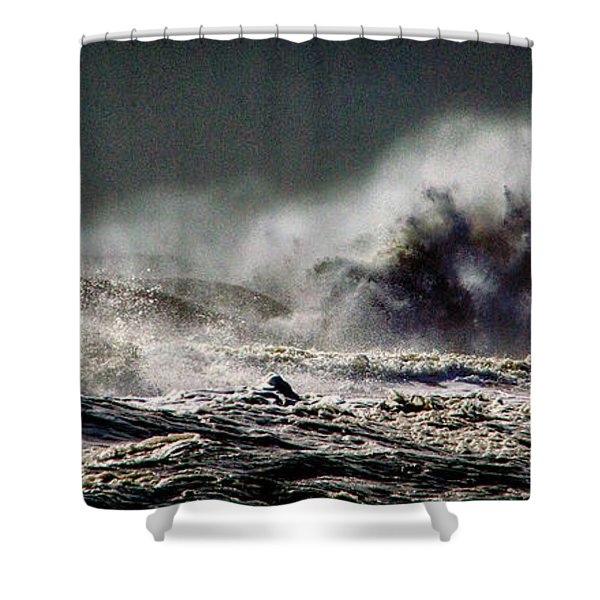 Monster Of The Seas Shower Curtain