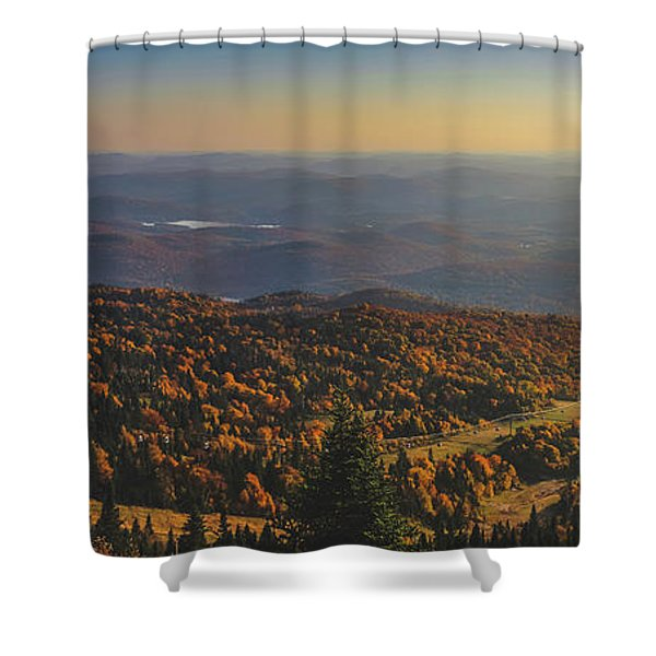 Mont Tremblant Summit Panorama Shower Curtain