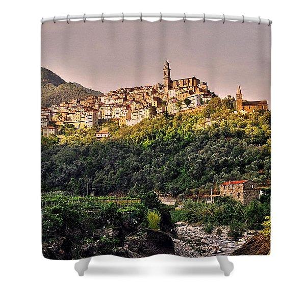 Montalto Ligure - Italy Shower Curtain