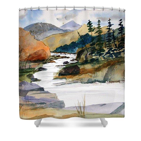 Montana Canyon Shower Curtain