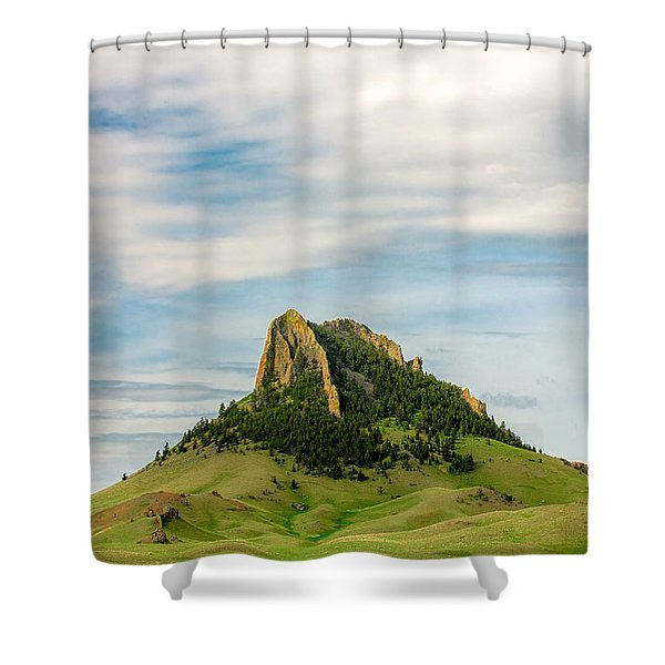 Montana Matterhorn Shower Curtain