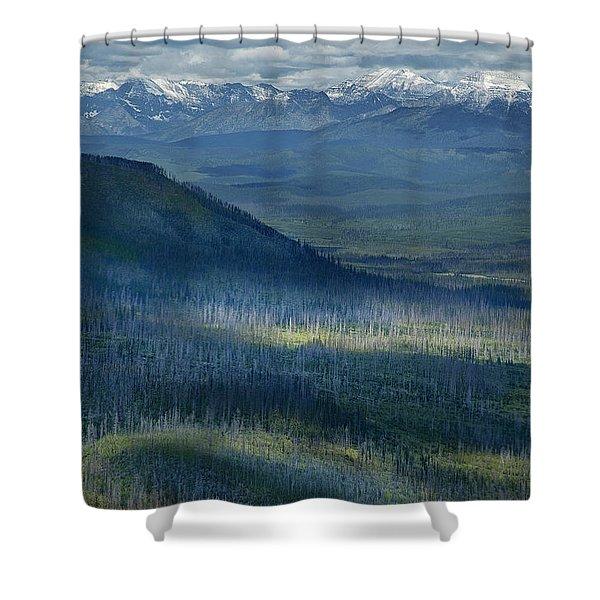 Montana Mountain Vista #3 Shower Curtain