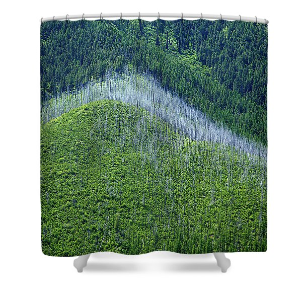 Montana Mountain Vista #4 Shower Curtain
