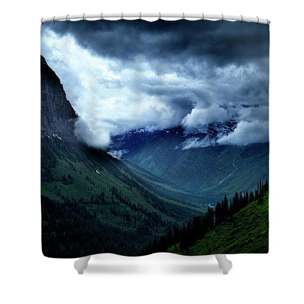 Montana Mountain Vista Shower Curtain