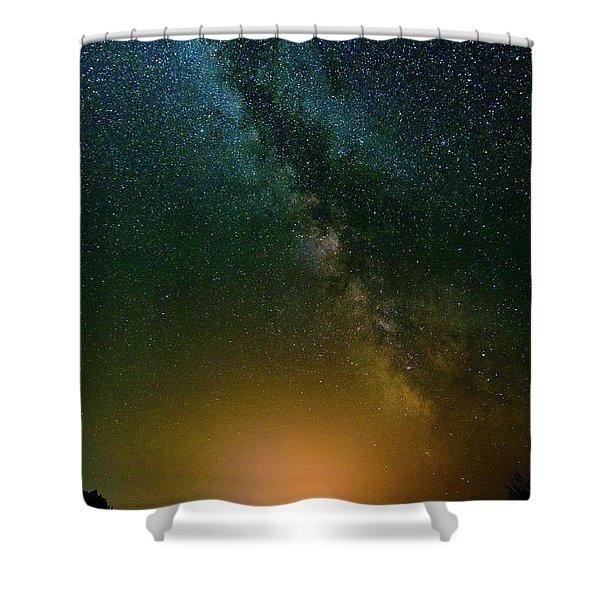 Montana Night Shower Curtain