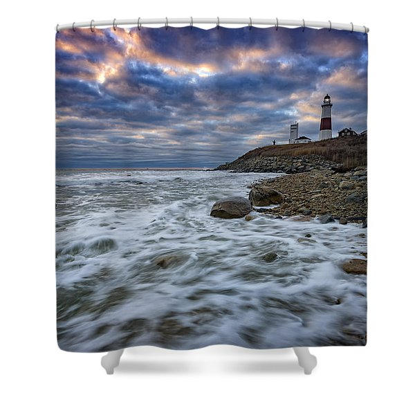 Montauk Morning Shower Curtain