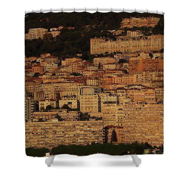Monte Carlo Dawn Shower Curtain