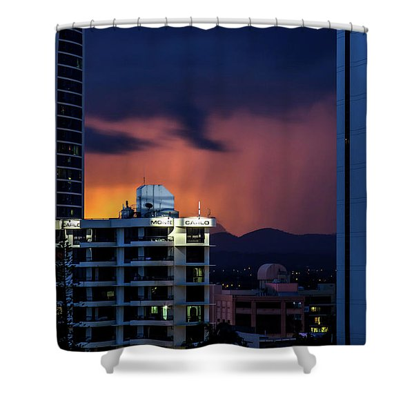 Monte Carlo Moods Shower Curtain