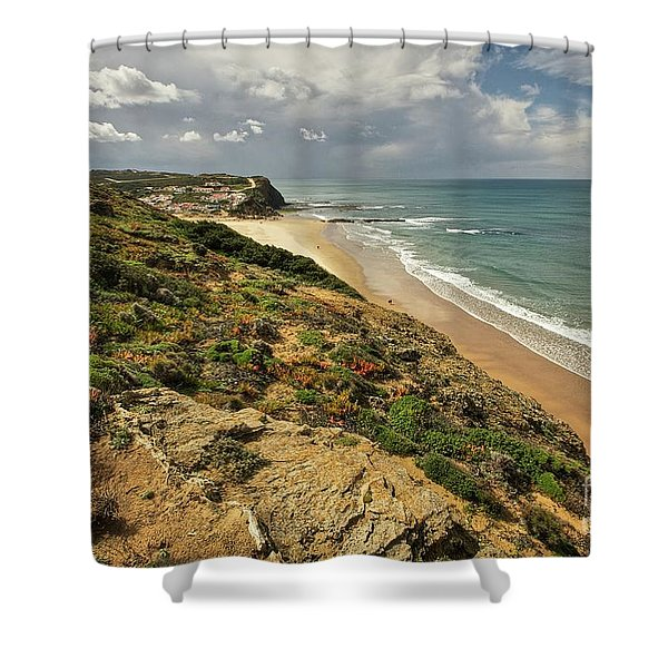 Monte Clerigo Shower Curtain