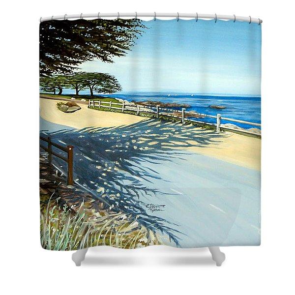 Monterey Shadows Shower Curtain
