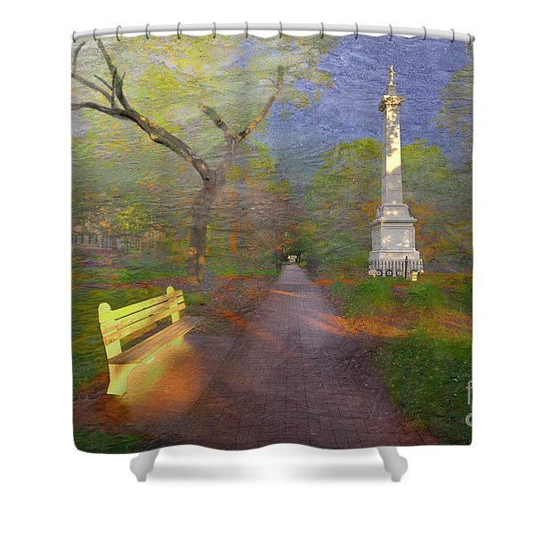 Monterey Square  Shower Curtain