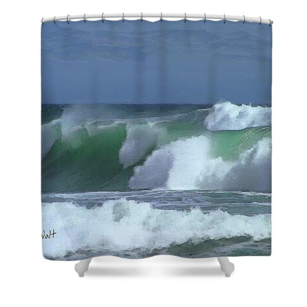 Monterey Surf Shower Curtain