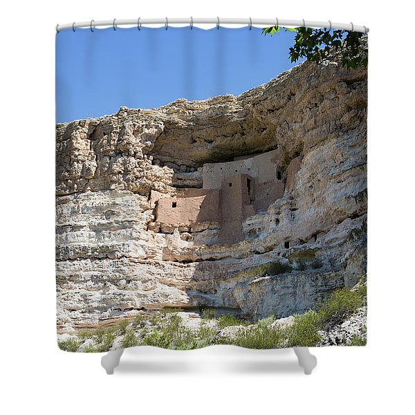 Montezuma Castle National Monument Arizona Shower Curtain