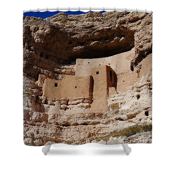 Montezuma Castle Shower Curtain