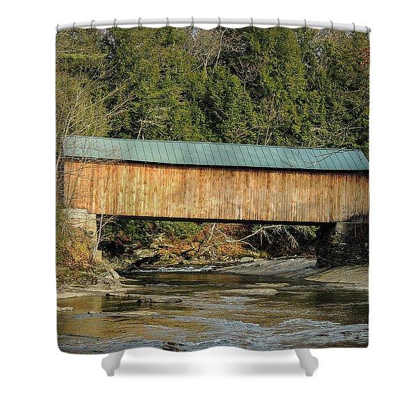 Montgomery Road Bridge Shower Curtain