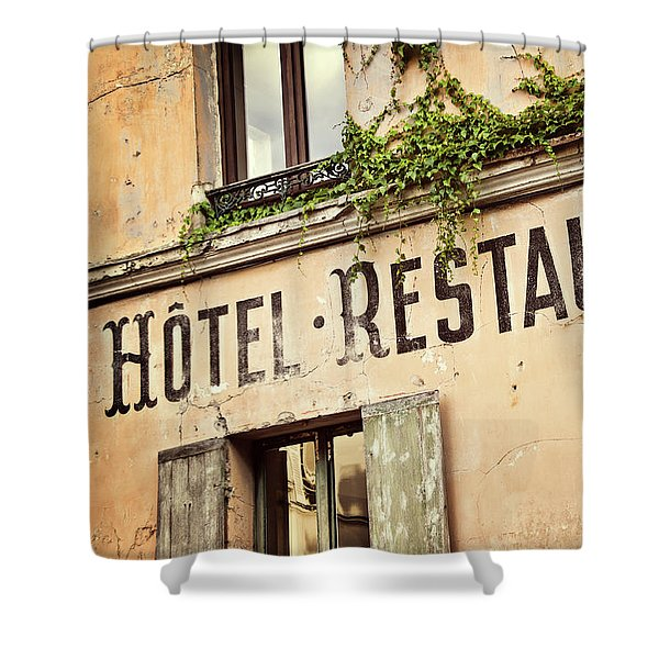 Montmartre Hotel Restaurant  Shower Curtain