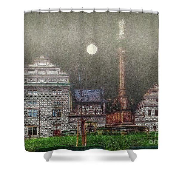 Monumental- Prague Shower Curtain