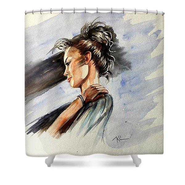 Mood 3 Shower Curtain