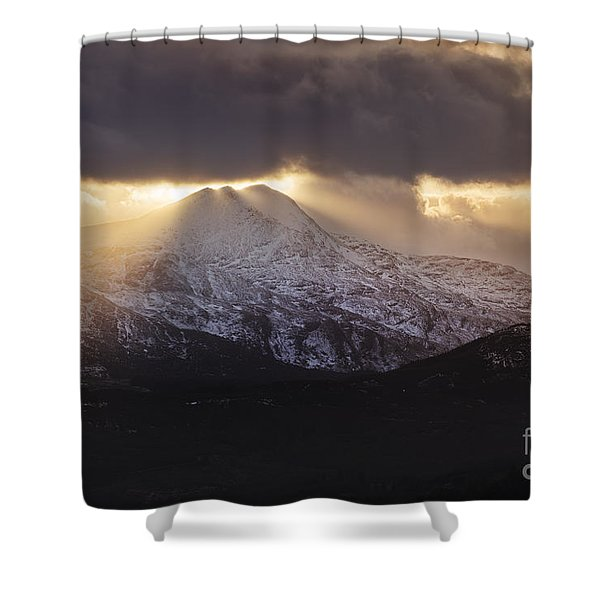 Moody Ben Lomond Shower Curtain
