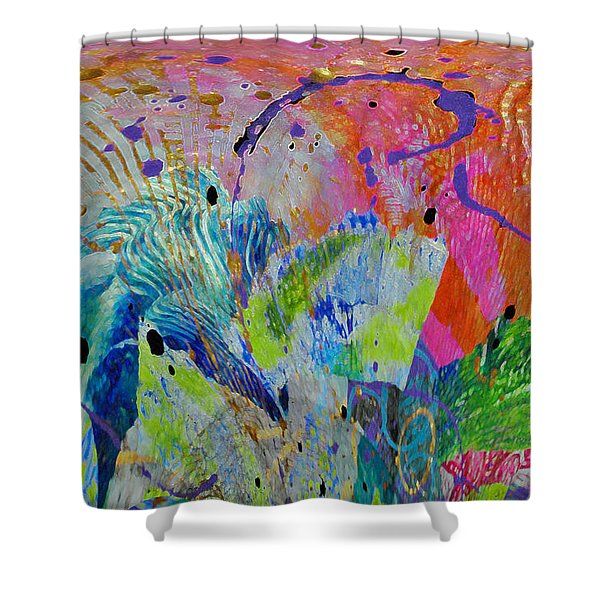 Moody Blues2 Shower Curtain
