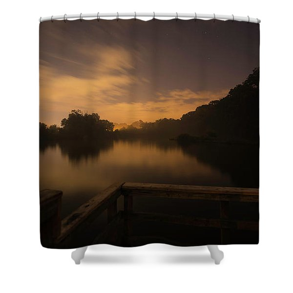 Moody View Shower Curtain