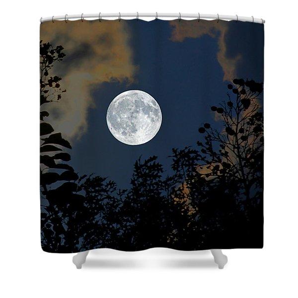 Moon Glo Shower Curtain