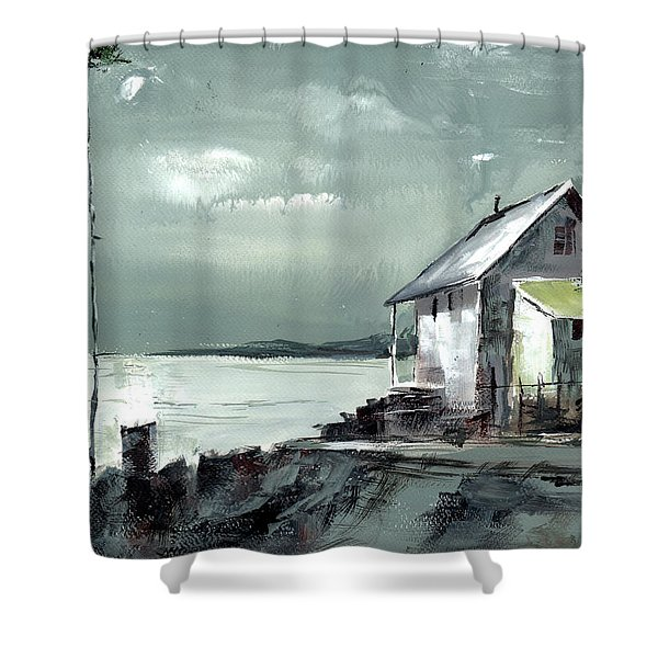 Moon Light Shower Curtain