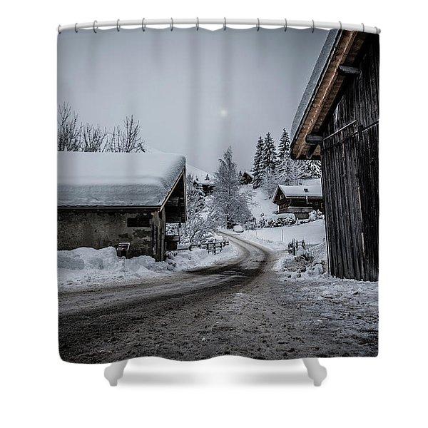 Moon Walk- Shower Curtain