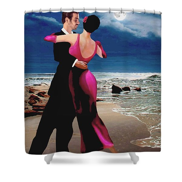 Moonlight Dance Shower Curtain