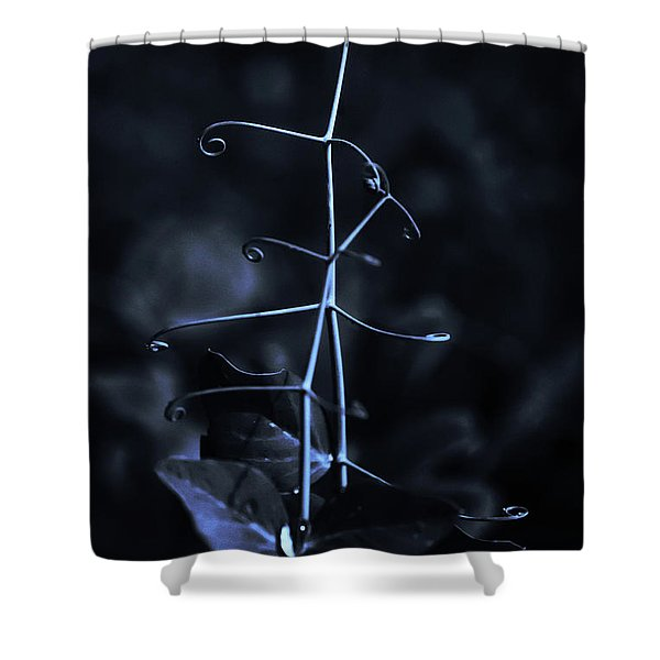 Moonlight On The Pea Patch Shower Curtain