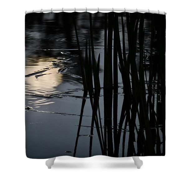 Moonlight Reflections Shower Curtain