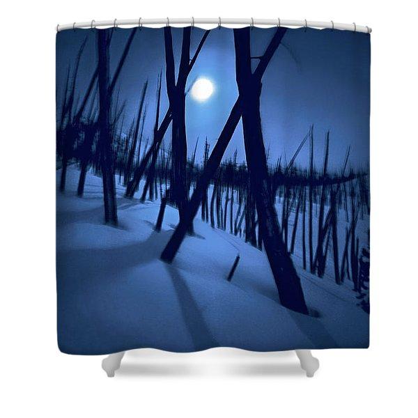 Moonshadows Shower Curtain
