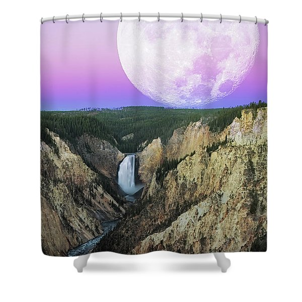 My Purple Dream Shower Curtain