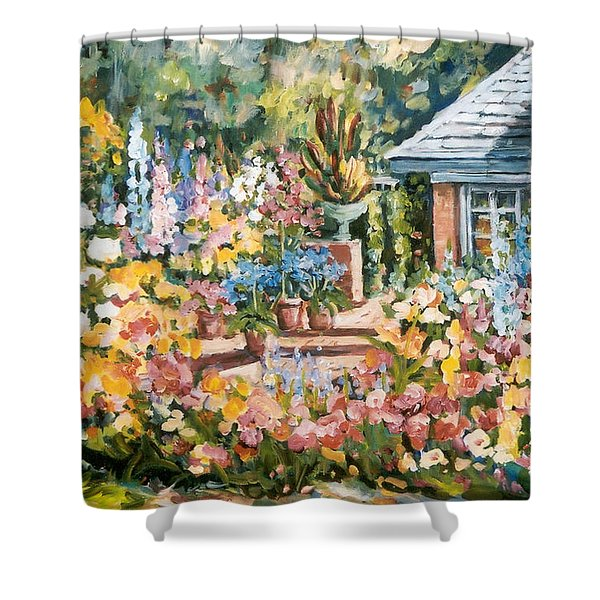 Moore's Garden Shower Curtain