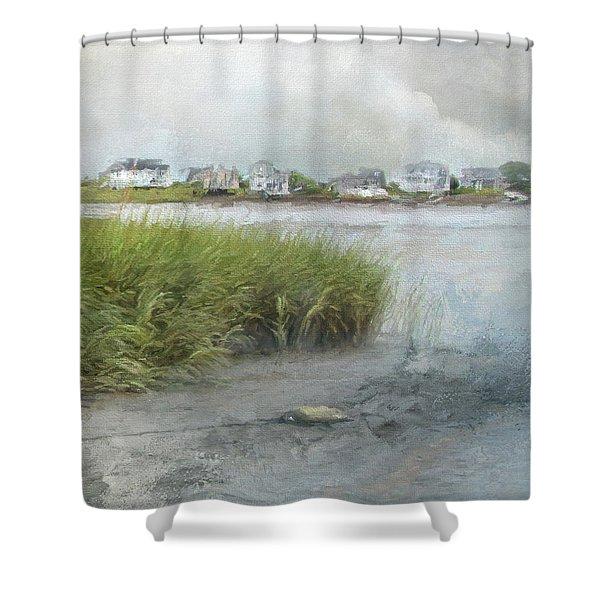 Mooring Line Shower Curtain