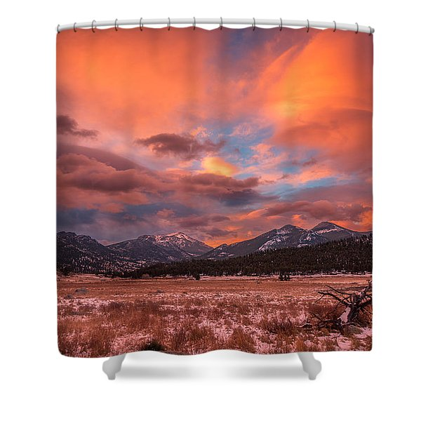 Morain's Sunrise Shower Curtain
