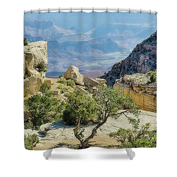Moran Point View Shower Curtain