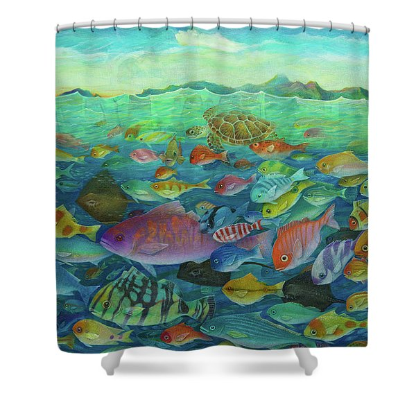 More Fish Shower Curtain