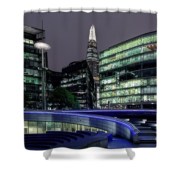 More London Riverside Shower Curtain