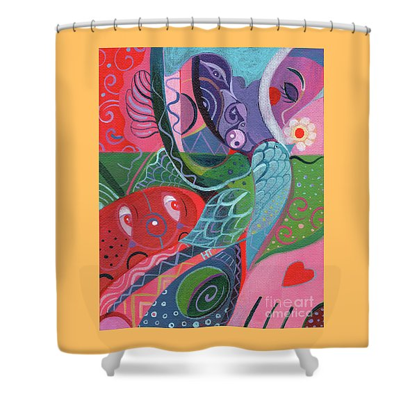 More Love Shower Curtain