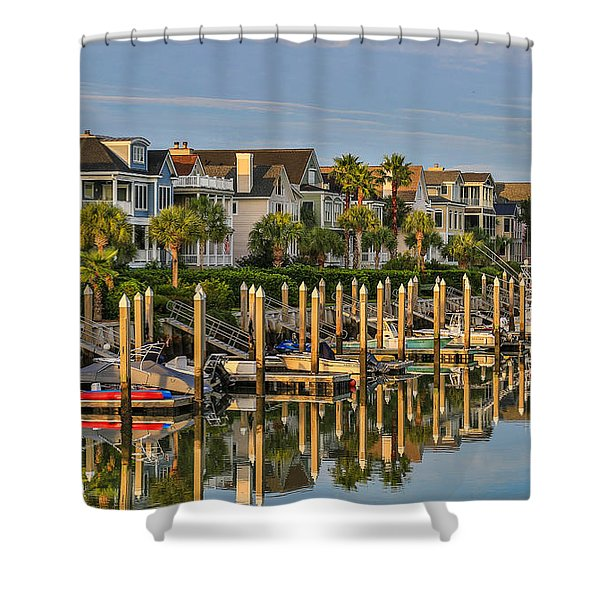 Morgan Place Homes In Wild Dunes Resort Shower Curtain