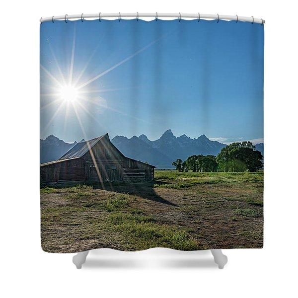 Mormon Row Shower Curtain
