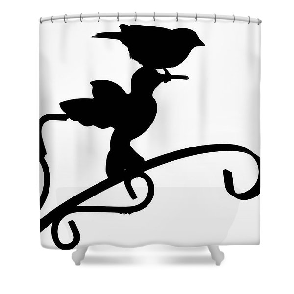 Morning Adventures Shower Curtain